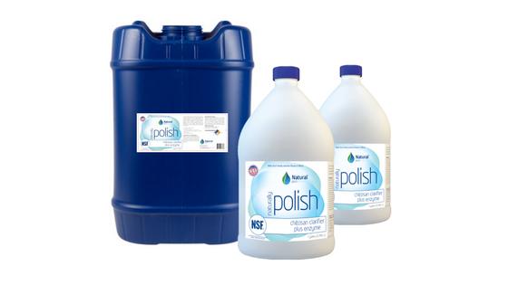 naturally polish water clarifier plus enzyme, enzyme water clarifier