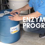 commercial pool enzyme, natural pool products, nsf 50 enzyme, nsf pool chemical, simply pure enzyme