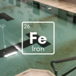 iron in pools, prevent iron stains, iron vs chlorine, remove iron from pool